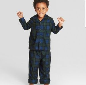 Other - Toddler Plaid Pajama Set
